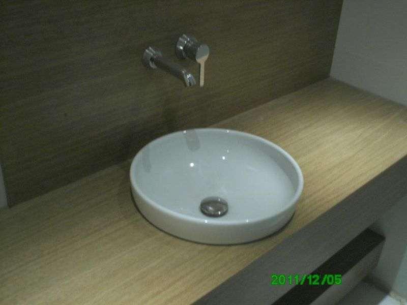 Banyo içi Lavabo Dolap Dekorasyon ve Tesisatı