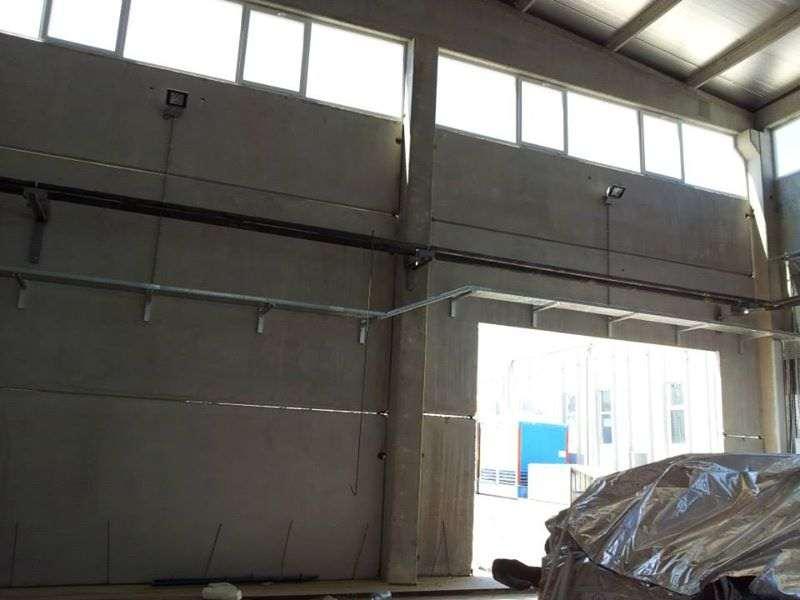 Fabrika içi Aydınlatma ve Projeksiyon Tesisat