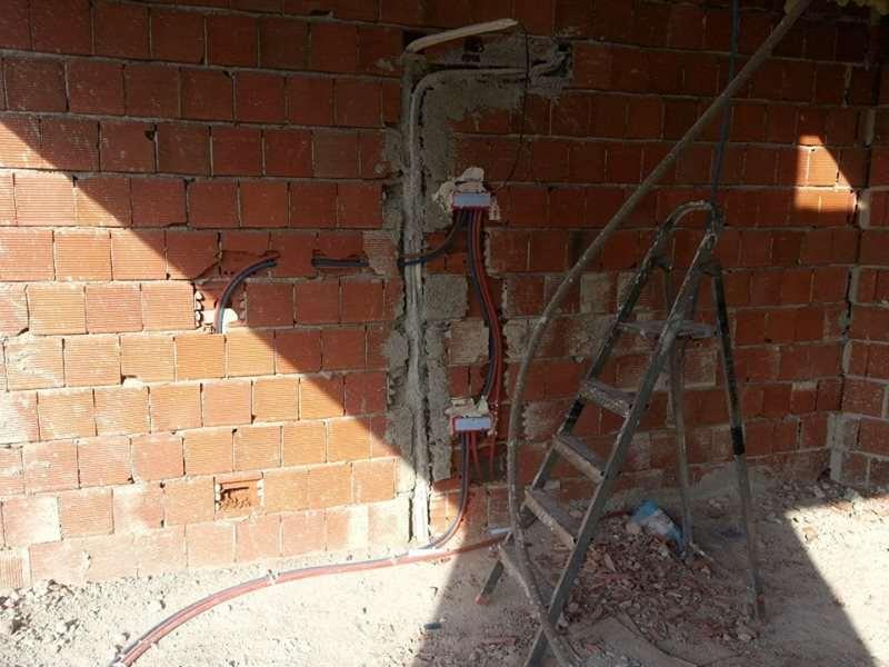 Konut İnşaat Elektrik Kablo Döşeme