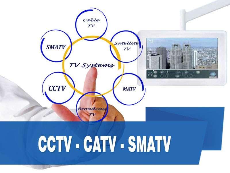CCTV - CATV - SMATV